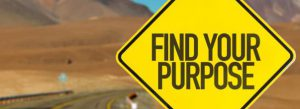 Find your purpose road sign